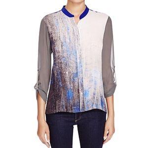 Elie tahari Chelsea blouse 100% silk